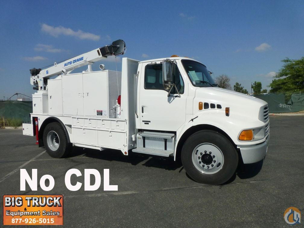 2008 Sterling Acterra 6000lb Autocrane Mechanics Truck Service  Utility Trucks STERLING Acterra Big Truck amp Equipment Sales LLC 18971 on CraneNetworkcom